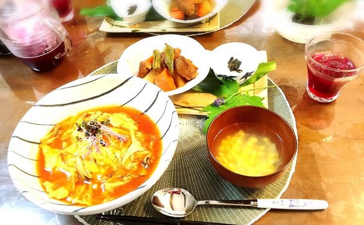 【お酢の基本レッスン】 黒酢でこってり煮、リンゴ酢で赤紫蘇ジューズ編