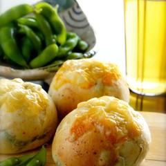 真夏のビールと相性バツグン!『枝豆チーズパン』レッスン♪