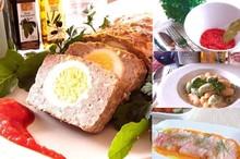 料理レッスン写真 - 思ったより簡単♪豪華なイタリアンミートローフと2色カラフルニョッキ