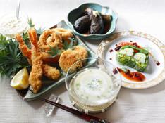 料理レッスン写真 - フライ上手は料理上手!海老・イカの下拵えと揚げ物料理の基本を学ぼう!