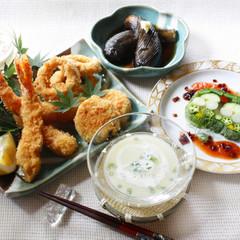 フライ上手は料理上手!海老・イカの下拵えと揚げ物料理の基本を学ぼう!