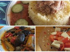 料理レッスン写真 - トマトパワー全開で夏を乗り切る&クスクス・ガスパチョ・茄子・デザート!