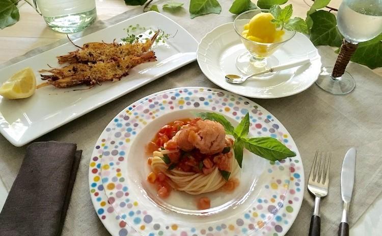 真夏に食べたいイタリアンメニュー 〜季節の食材を使って〜