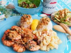 料理レッスン写真 - Hawaiian Seafood♪ガーリックシュリンプ、ポキなど