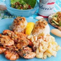Hawaiian Seafood♪ガーリックシュリンプ、ポキなど