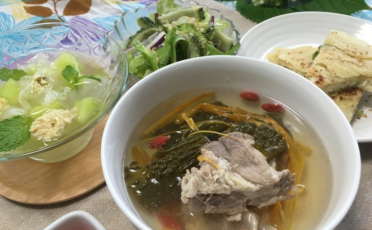 夏バテを防ぐ本格薬膳スープで、暑い夏もおいしく涼やかに