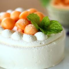 ふわふわスポンジケーキを完全マスター!北海道産メロンのショートケーキ