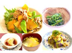 料理レッスン写真 - リターンレッスン 夏野菜たっぷり中華!メインは牛肉の甘辛炒め!