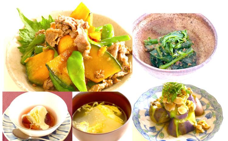リターンレッスン 夏野菜たっぷり中華!メインは牛肉の甘辛炒め!