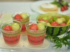 料理レッスン写真 - 夏休みは親子で!豪快手絞りすいか&メロン♪ハワイアンパンケーキ付