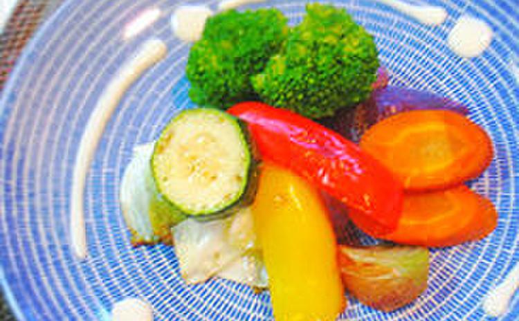 野菜のベイクドサラダ 豆腐マヨネーズ