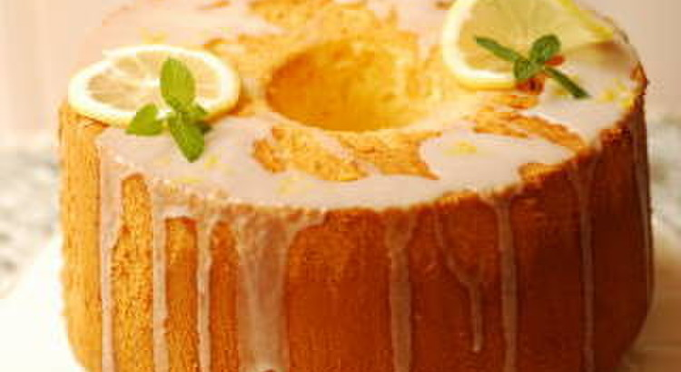 さっぱりレモンのシフォンケーキと甘酸っぱいレモンシロップのレッスン