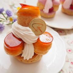 【追加レッスン】フランス菓子サントノレ、プロフィットロール