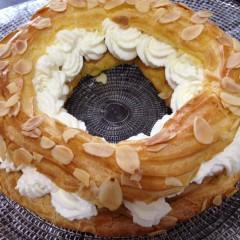 華やかなシュークリーム、「パリ・ブレスト」に挑戦!