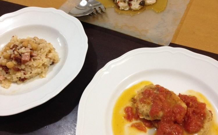 残暑は爽やかなイタリアンで撃退!ホタテのマリネ&レモン風味のハンバーグ