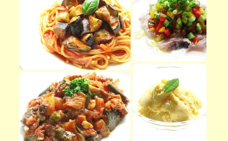 秋ナスをもっとおいしく。家庭で簡単イタリアン ナスのパスタ&カポナータ