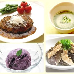 名残りの夏に食べたいヘルシー和食  豆腐とひじき入り和風ハンバーグ