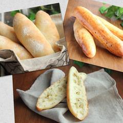 デリ付!グリーンオリーブパンと甘いパン・ヴィエノワ プレーン&ショコラ