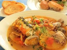 料理レッスン写真 - 魚介の煮込み いわしのブイヤベース、パリッと香ばしい手羽先のコンフィー
