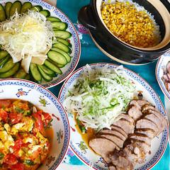 疲労回復の食材「イカ」と「豚肉」が主役!夏バテ解消の「おもてなし献立」