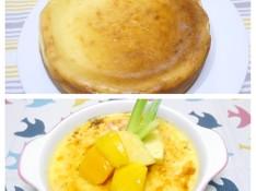 料理レッスン写真 - 濃厚ベークドチーズケーキ&クレマカタラーナ