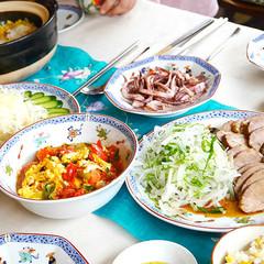 【夏休み☆親子料理】いかをさばきましょう!夏の爽やか中華料理レッスン!