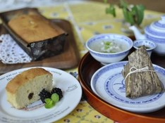 料理レッスン写真 - 全く新しい製法でマスターするパウンドケーキ!セイロちまき飲茶付き!