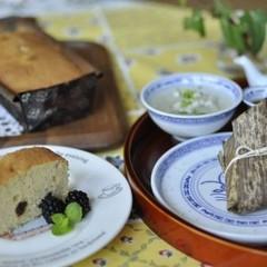 全く新しい製法でマスターするパウンドケーキ!セイロちまき飲茶付き!