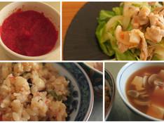 料理レッスン写真 - ポルトガルの万能調味料「マッサ」&豚肉・ピラフ・スープが美味しく変身!