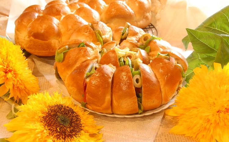 もっちりふわふわ☆ちぎりパン