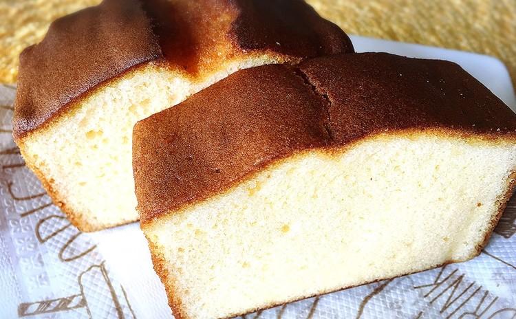 バナナのシナモンパウンドケーキ