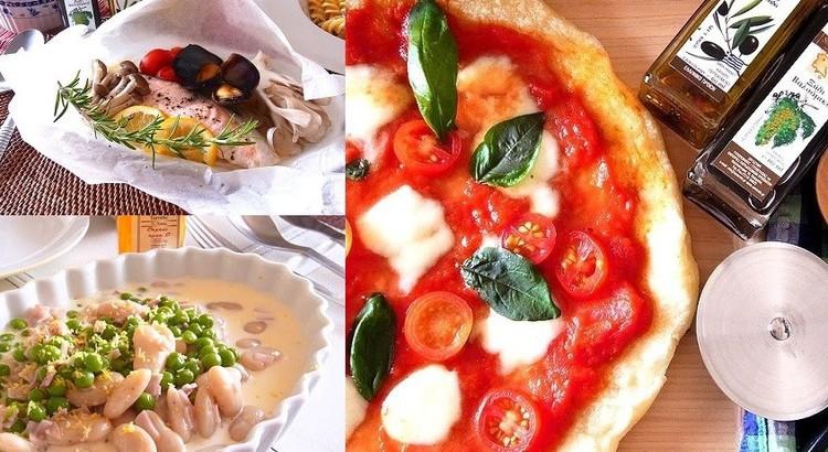 カリッもちっ!手作りピザや秋鮭のカルトッチョ 秋の定番イタリアン