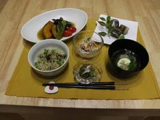 料理レッスン写真 - お魚レッスン☆イワシを使った和食御膳