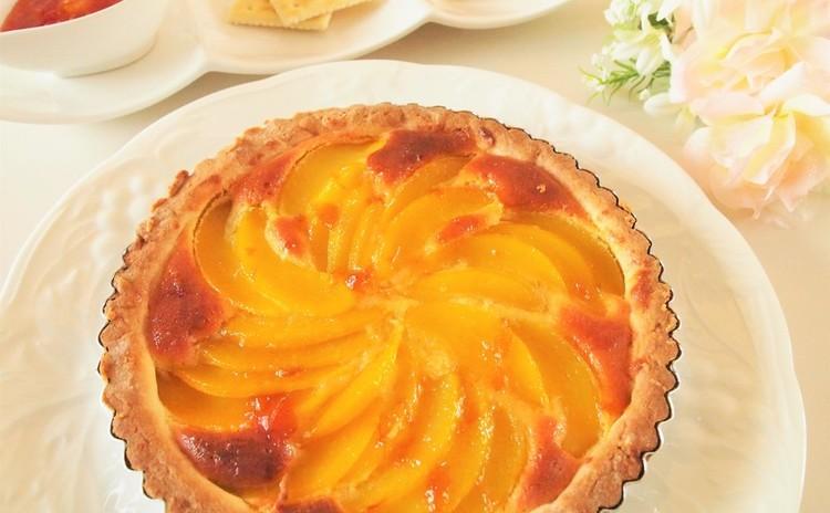 キャラメルリンゴのアーモンドクリームタルト&農家のアイコトマトジャム♡