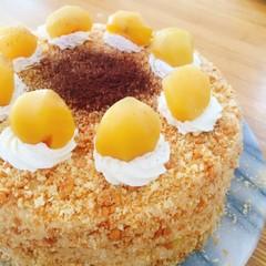 【プロが教える】『マロンケーキ』初心者でも失敗のない生ケーキの決定版