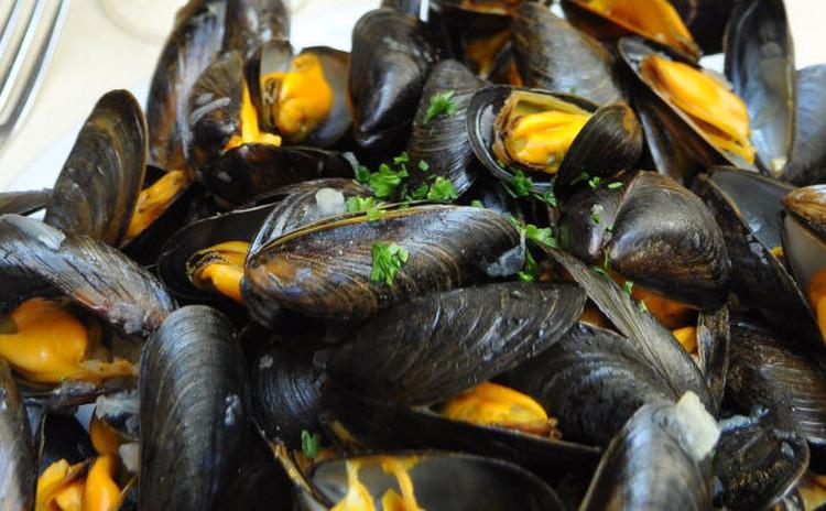 前菜4種!ムール貝のマリネ・ウッフココット・ガスパチョ・キャロットラペ
