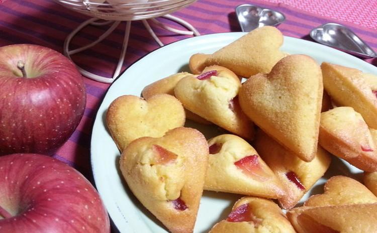 オリーブオイルがポイントの林檎のマドレーヌ&ほろほろスノーボウル