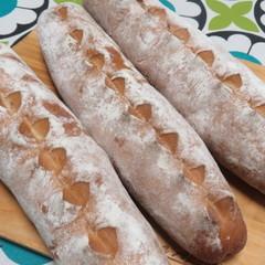 ランチ付☆白神こだま酵母で2種類のチーズパン