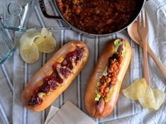 料理レッスン写真 - 話題沸騰!秋の行楽にぴったりなおしゃれなホットドッグ~オザドッグ~