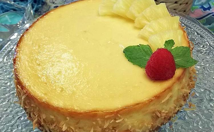 夏に美味しい冷た~いトロピカル・チーズケーキ ♬