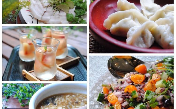 日程追加!!中華祭り~手作り皮のもちもち水餃子でおもてなし(5品)