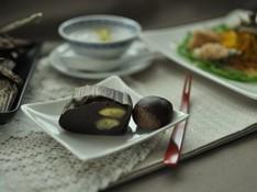 料理レッスン写真 - セイロで本格派!ゴロゴロ栗蒸し羊羹と秋の薬膳ランチ