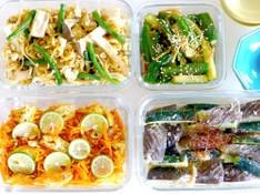 料理レッスン写真 - 秋野菜で作り置きお惣菜!秋の炊き込みご飯も!