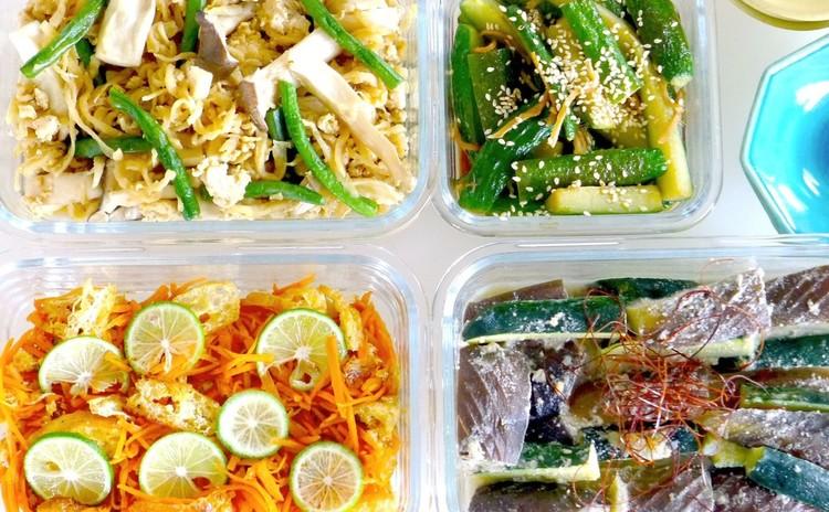 秋野菜で作り置きお惣菜!秋の炊き込みご飯も!