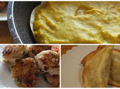 料理レッスン写真 - 南瓜と餃子の皮使い切り&パイとチキンナゲットとデザートに変身