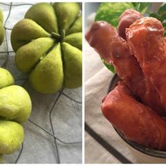 白神こだま酵母で作る!パンプキンパン&黒糖のかりんとう