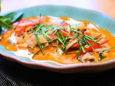 料理レッスン写真 - <リクエスト日程追加!>濃厚美味パネンカレーと秋茄子で作るヤムマクア