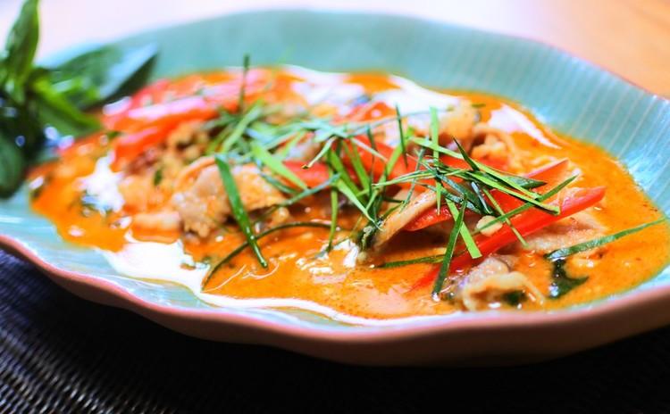 <リクエスト日程追加!>濃厚美味パネンカレーと秋茄子で作るヤムマクア