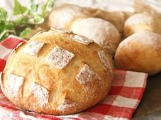料理レッスン写真 - 酒種酵母で作る!まんまる大きなブールと大納言たっぷりの豆パン