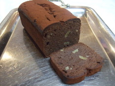料理レッスン写真 - 糖質制限でチョコとクルミのパウンドケーキ作り!チョコサブレも!